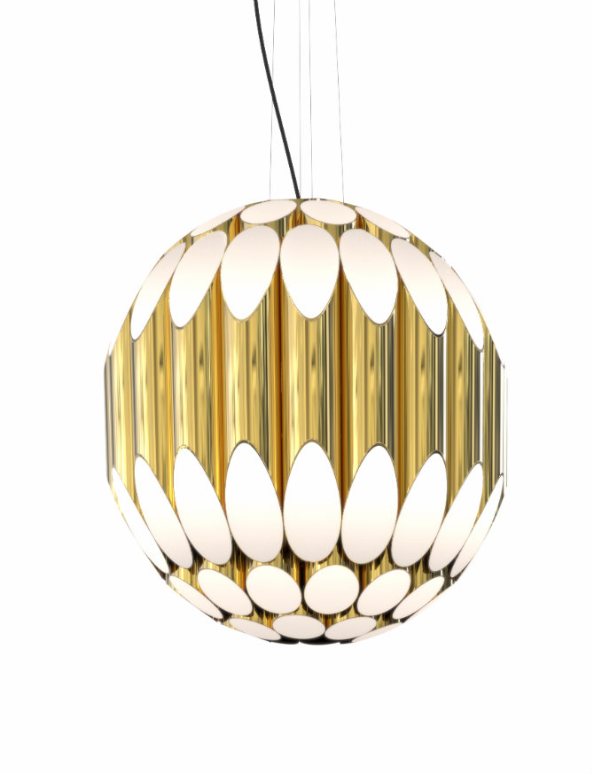Kravitz-Suspension-gold  Golden Rock Era: Kravitz Suspension Lamp Kravitz Suspension gold