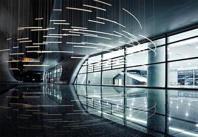 best of light installations modern floor lamps