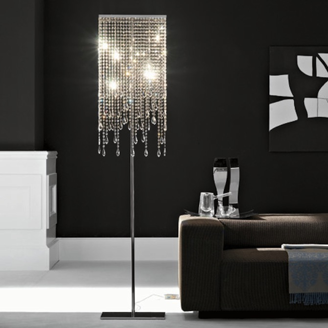 Modern and trendy floor lamps for living rooms modern for Modern floor lamps living room