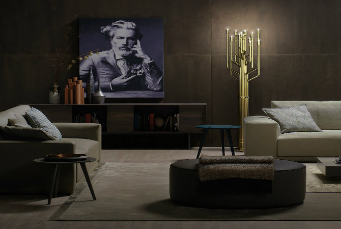 10 Golden modern floor lamps feat2