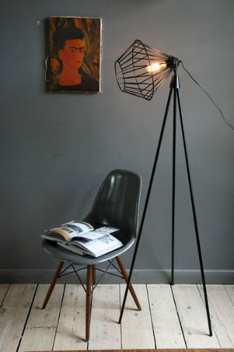 Industrial style use modern floor lamps