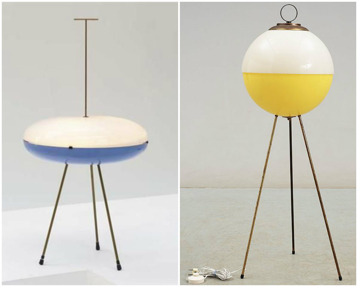 10 mid-century lighting designs by Gio Ponti floor lamp 10 Floor Lamp Ideas For Your Interiors 10 mid century lighting designs by Gio Ponti 1