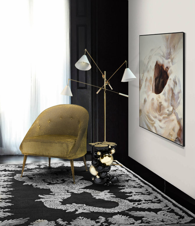 5 Ways to transform your home with Sinatra Floor Lamp living room boca do lobo floor lamp 7 Ways to transform your home with Sinatra Floor Lamp 5 Ways to transform your home with Sinatra Floor Lamp living room brabbu