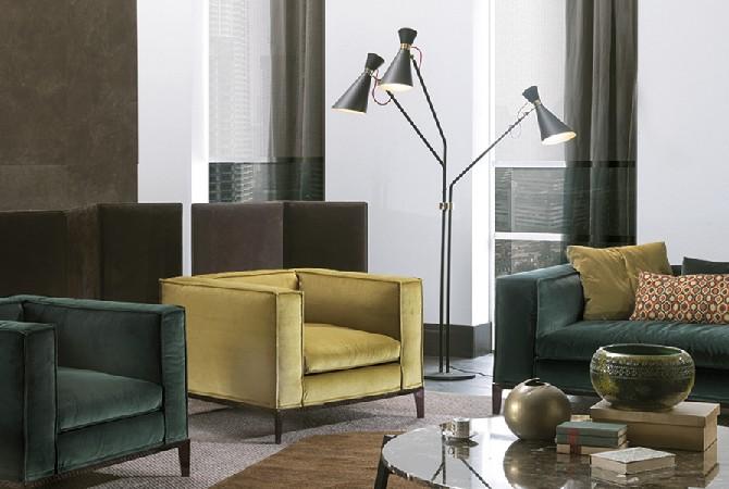 Standing lamps living room & bedroom designs bedroom