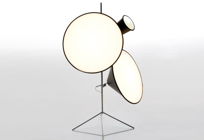 lamps designed by Tom Dixon Cone Light Tripod Stand floor lamp 10 Floor Lamp Ideas For Your Interiors Floor lamps designed by Tom Dixon Cone Light Tripod Stand