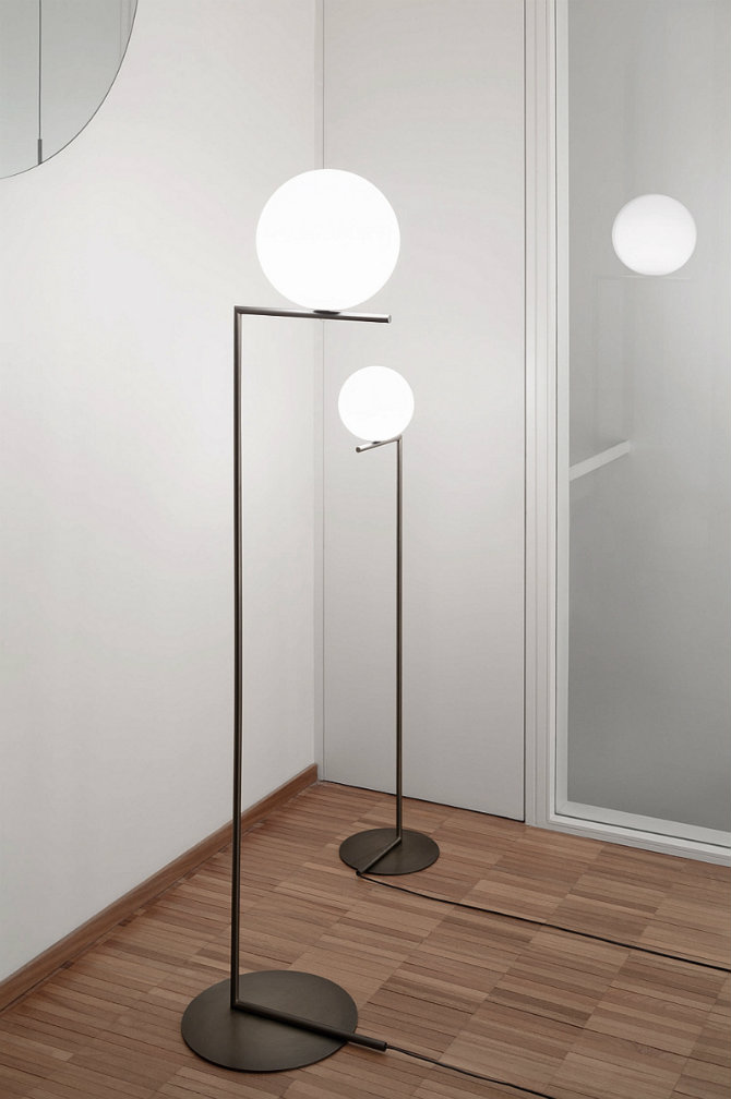 Iconic Floor lamps designed by Flos IC LIGHT F by Michael Anastassiades floor lamps 10 modern white floor lamps Iconic Floor lamps designed by Flos IC LIGHT F by Michael Anastassiades