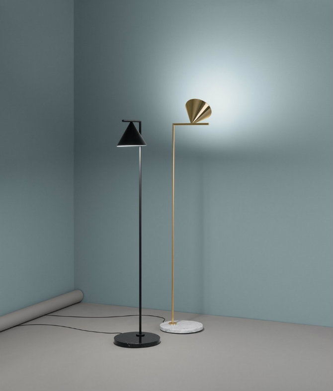 Iconic Standing lamps designed by Flos New lighting designs by Michael Anastassiades