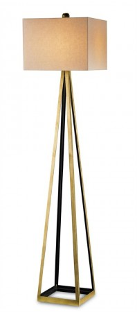 Modern Floor Lamps Bel Mondo Floor Lamp by Currey and Company