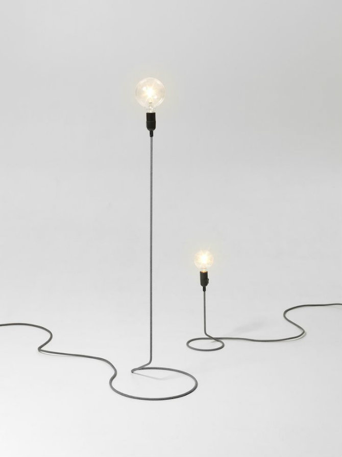 Modern standing lamp designs that you'll love Cord Lamp by Petrus Palmér Jonas Pettersson and John Löfgren modern floor lamp Modern Floor Lamp Designs that You'll Love Modern floor lamp designs that you   ll love Cord Lamp by Petrus Palm  r Jonas Pettersson and John L  fgren