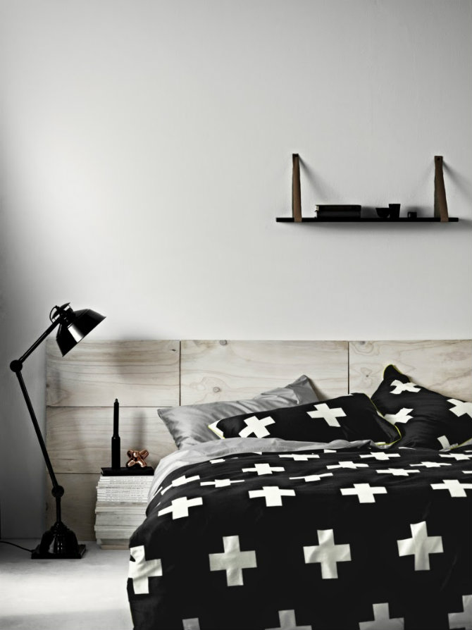 floor lamps to use in a bedroom new black crosses bedlinen by Aura Home modern floor lamps Minimalist Design: Modern Floor Lamps Ideas Modern floor lamps to use in a bedroom new black crosses bedlinen by Aura Home