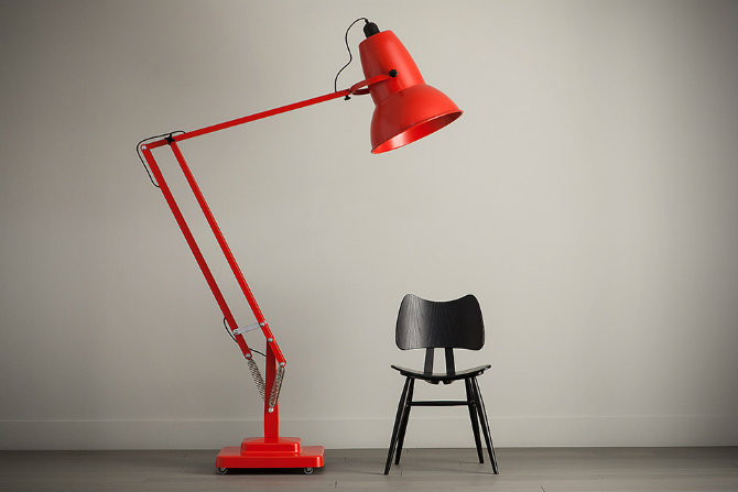 red standing lamps for your home designs Anglepoise-Giant-1227-Floor-Lamp-Red floor lamps Red Floor lamps for your home designs Red Floor lamps for your home designs Anglepoise Giant 1227 Floor Lamp Red