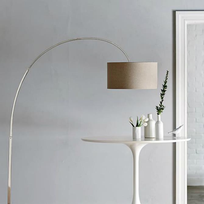 arc floor lamp 1 contemporary lighting Spring Trends for your contemporary lighting: nickel floor lamps arc floor lamp 1
