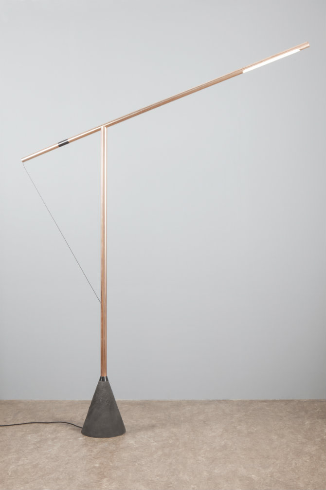 10 led floor lamps to buy right now 10 floor lamps led to buy right now beautifully minimal copper led lamp post led floor aloadofball Image collections