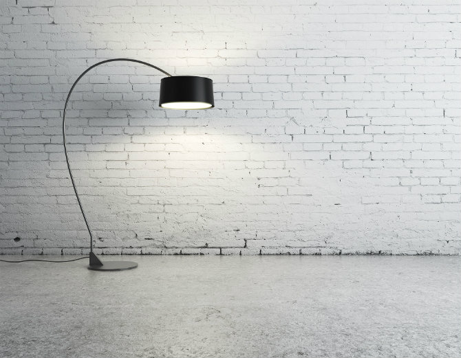 Industrial Design Icons: Floor lamps and brick walls industrial design Industrial Design Icons: Floor lamps and brick walls brick walls and floor lamps headr