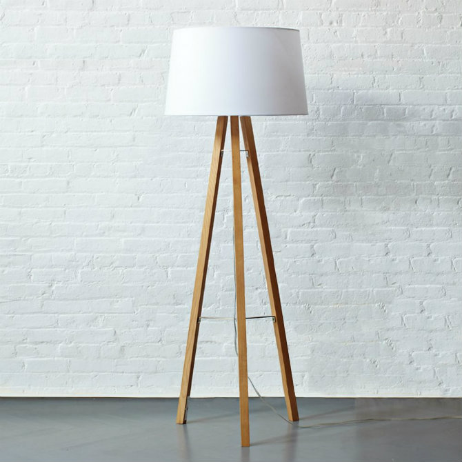 Industrial Design Icons: Floor lamps and brick walls industrial design Industrial Design Icons: Floor lamps and brick walls brick walls and floor lamps tripod floor lamp