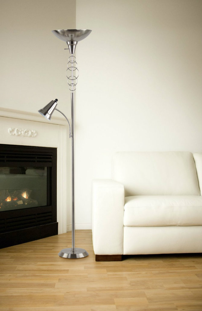 Get your home a modern touch with a silver floor lamp Lecacy Home Halo Touchier Lam Floor Lamp silver floor lamp Get your home a modern touch with a silver floor lamp Get your home a modern touch with a silver floor lamp Lecacy Home Halo Touchier Lam Floor Lamp