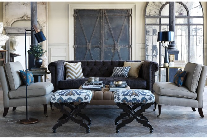 NateBerkus Interior Design Projects Using Floor Lamps Calico Corners Nate Berkus Collection Fabric Line