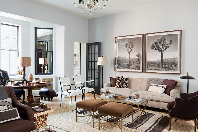 Nate Berkus Interior Design Projects Using Floor Lamps Living Room