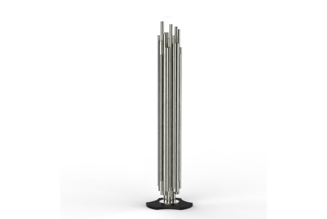Get your home a modern touch with a silver floor lampGet your home a modern touch with a silver floor lamp