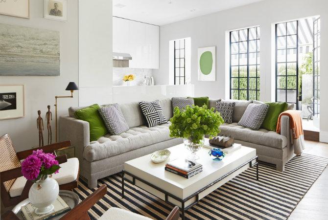 Nate Berkus Interior Design Projects using Floor Lamps