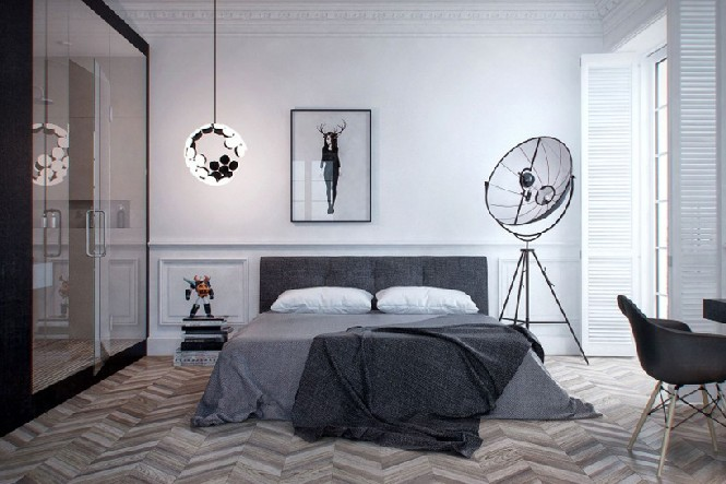10 harmonious bedroom ideas with floor lamps that you'll want to see Appartement réalisé par INT2 floor lamps 10 harmonious bedroom ideas with floor lamps that you'll want to see 10 harmonious bedroom ideas with floor lamps that you   ll want to see Appartement r  alis   par INT2