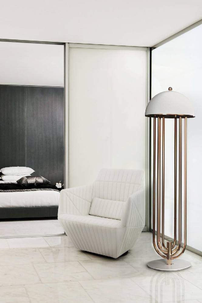 delightfull floor lamps 10 harmonious bedroom ideas with floor lamps