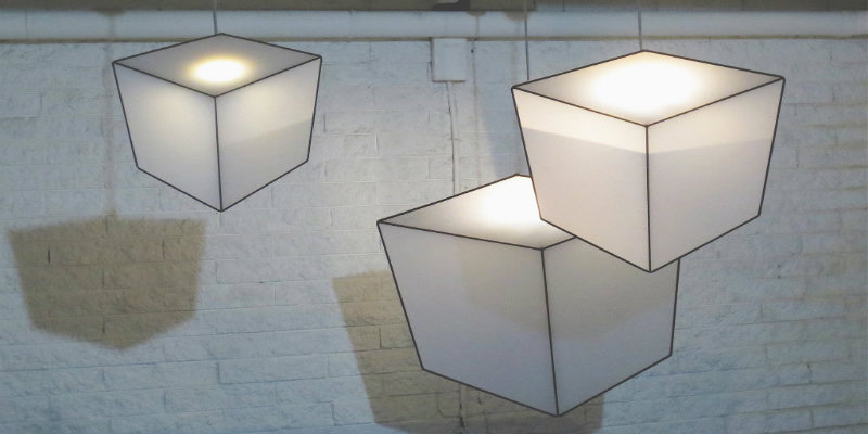 3d lighting design creates an incredible optical illusion