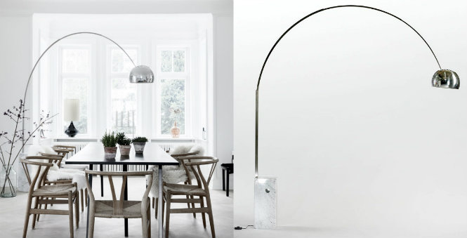 4 Fascinating & Modern Floor Lamps Recommended for Dining Rooms Achille & Pier Castiglioni Classic Arco Style Floor Lamp with Marble Base Modern Floor Lamps 4 Fascinating & Modern Floor Lamps Recommended for Dining Rooms 4 Fascinating Modern Floor Lamps Recommended for Dining Rooms Achille Pier Castiglioni Classic Arco Style Floor Lamp with Marble Base