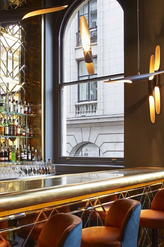 Inspiring Restaurant Designs Christopher's in Covent Garden (2) restaurant design Restaurant Designs With Great Lighting: Christopher's London Inspiring Restaurant Designs Christopher   s in Covent Garden 2