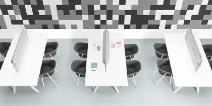 Statement Lighting Design Perfect for Open Offices by De Vorm