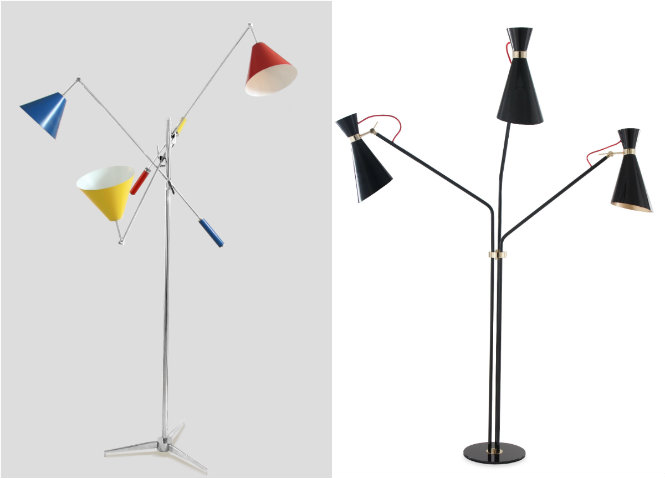 Iconic Mid-Century Modern Floor Lamps that we won't forget DelightFULL recreations