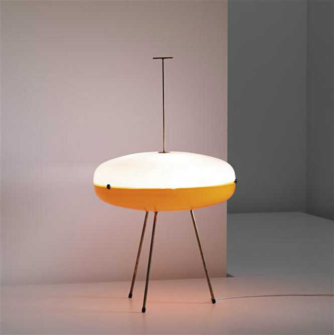 Iconic Mid-Century Modern Lamps that we won't forget GIO PONTI, Lamp, circa 1957