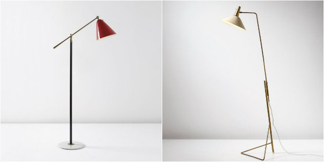 iconic midcentury modern lamps that we wonu0027t forget gino sarfatti floor lamps