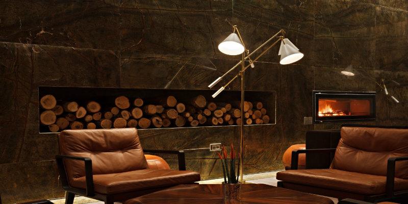 Stunning Interior Designs Using Floor Lamps