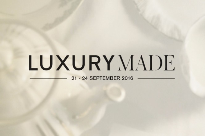 LUXURYMADE '16: LONDONDESIGNFESTIVAL'S NEW SHOW