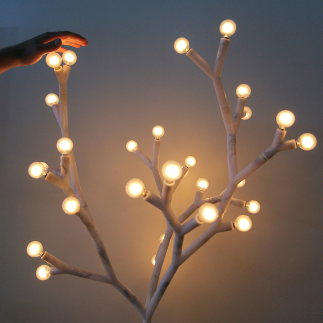 Splyt: The LED Tree Standing Lamp standing lamp Splyt: The LED Tree Standing Lamp 07 YKit inspire