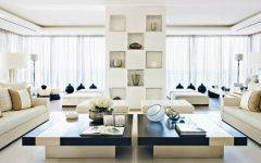 Kelly Hoppen's Wonderful Beirut Apartment featuring Modern Floor Lamps