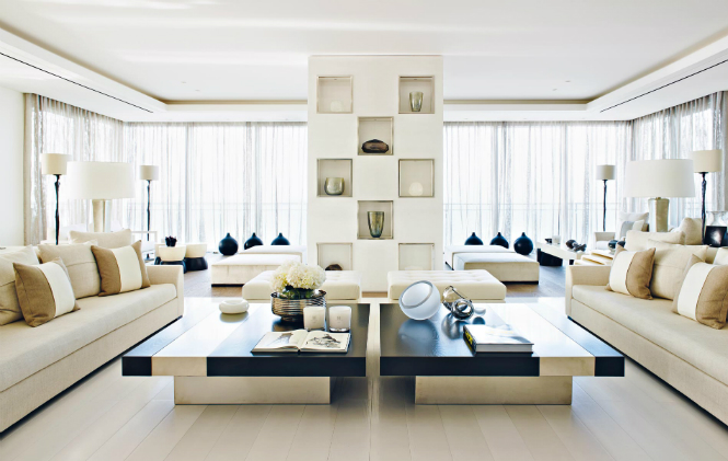 KellyHoppen's Wonderful Beirut Apartment featuring Modern Floor Lamps kelly hoppen Kelly Hoppen's Wonderful Beirut Apartment featuring Modern Floor Lamps 1