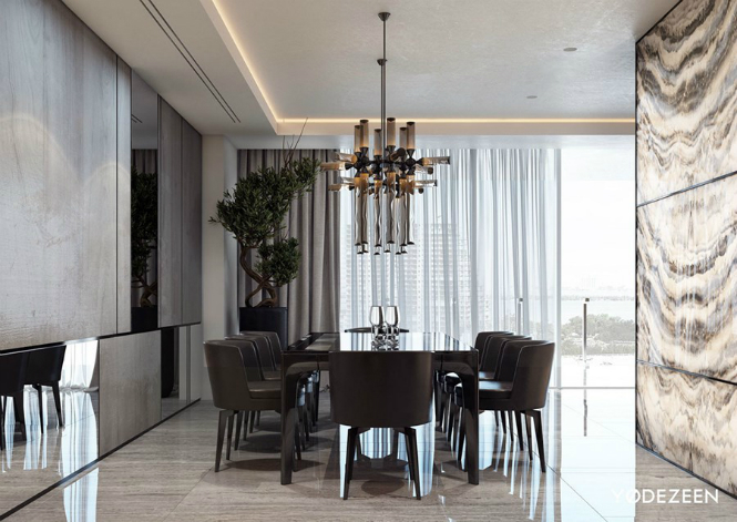 Luxurious House in Miami Boasts Amazing ModernFloorLamps modern floor lamps Luxurious House in Miami Boasts Amazing Modern Floor Lamps Leisure house in Miami by YoDezeen 03