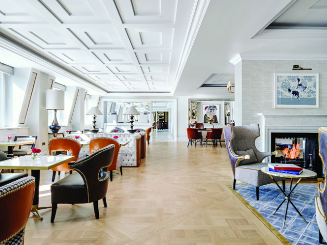 Brabbu Takes Over the Hospitality World: Brabbu Contract hospitality BRABBU Takes Over the Hospitality World: BRABBU Contract The Langham London Hotel Richmond International UK