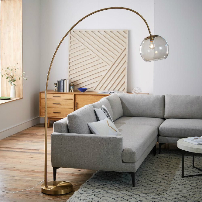 ModernFloorLamps Trends You Can't Miss This Fall modern floor lamps Modern Floor Lamps Trends You Can't Miss This Fall brass