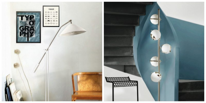 Mid-Century Floor Lamps Inspired by Iconic People