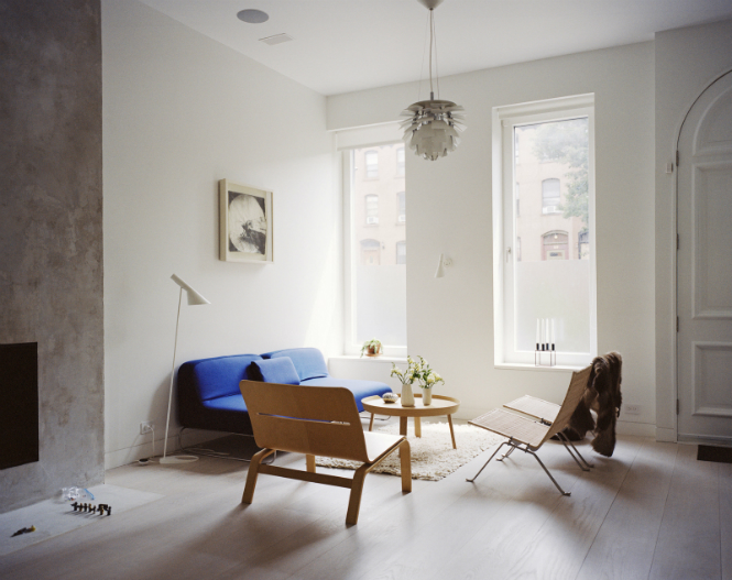 Scandinavian Brooklyn Home features a Strong Lighting Design Game lighting design Scandinavian Brooklyn Home features a Strong Lighting Design Game large