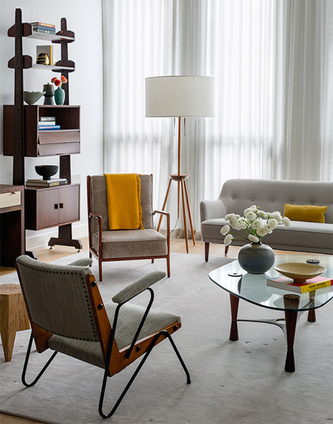 Awesome Home Designs featuring Modern Floor Lamps Powered by 1stdibs modern floor lamps Awesome Home Designs featuring Modern Floor Lamps Powered by 1stdibs mid century modern living room new york ny by damon liss design2