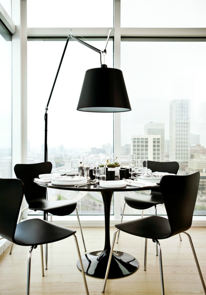 5 Ideas on How to Use Modern Floor Lamps in Your Dining Room modern floor lamps 5 Ideas on How to Use Modern Floor Lamps in Your Dining Room syon press