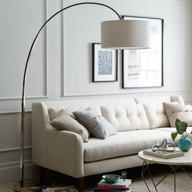 8 Chic Modern Floor Lamps to Surprise your Family this Thanksgiving modern floor lamps 8 Chic Modern Floor Lamps to Surprise your Family this Thanksgiving west elm