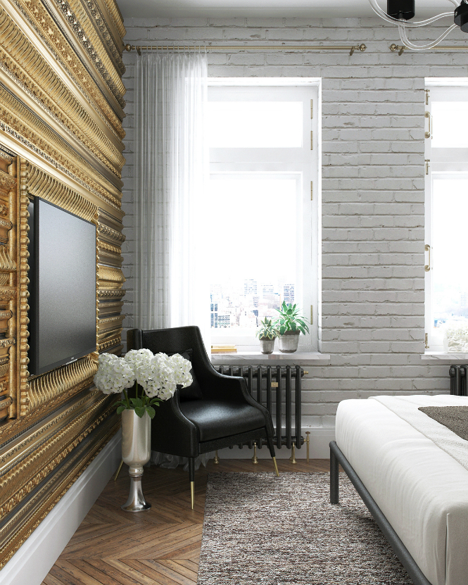 Contemporary Apartment in Kiev with Modern Black Lamps black lamps Contemporary Apartment in Kiev with Modern Black Lamps Contemporary Apartment in Kiev with Modern Black Lamps 10