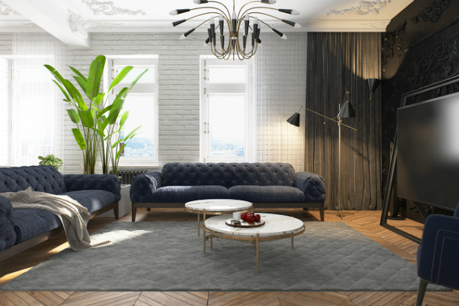 Contemporary Apartment in Kiev with Modern Black Lamps black lamps Contemporary Apartment in Kiev with Modern Black Lamps Contemporary Apartment in Kiev with Modern Black Lamps 2