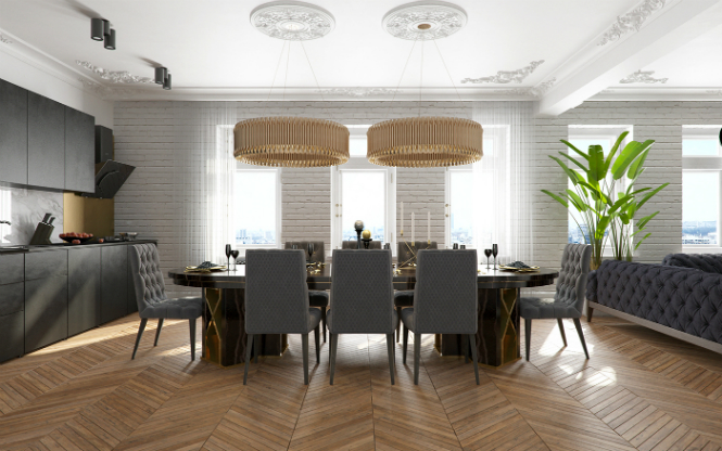 Contemporary Apartment in Kiev with Modern Black Lamps black lamps Contemporary Apartment in Kiev with Modern Black Lamps Contemporary Apartment in Kiev with Modern Black Lamps 3