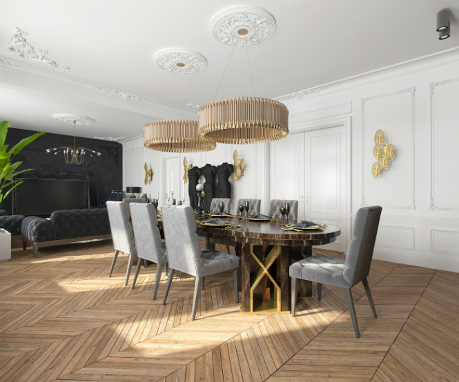 Contemporary Apartment in Kiev with Modern Black Lamps black lamps Contemporary Apartment in Kiev with Modern Black Lamps Contemporary Apartment in Kiev with Modern Black Lamps 4